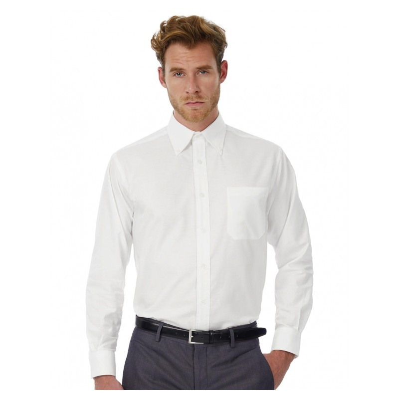 Chemise homme blanche manches longues ref : 720.42
