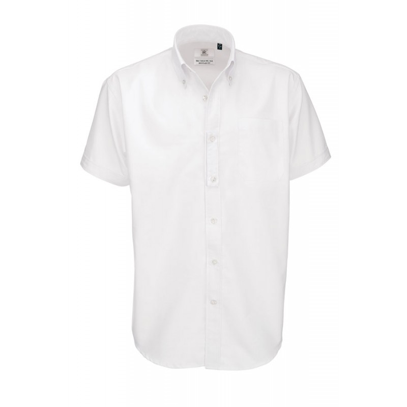 Chemise homme blanche manches courtes ref : 721.42