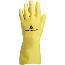 "Gants latex jaune ""Picaflore 240"" DELTAPLUS - ref: VE240"