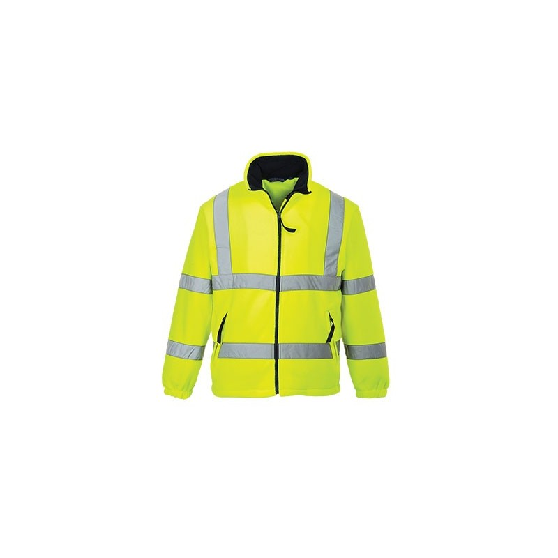 Polaire hi-vis double filet jaune PORTWEST - ref: F300